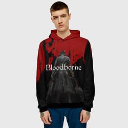 Толстовка-худи мужская Bloodborne цвета 3D-черный — фото 2