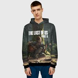 Толстовка-худи мужская The Last of Us part 2 цвета 3D-черный — фото 2