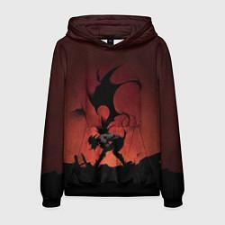 Толстовка-худи мужская Asta demon цвета 3D-черный — фото 1