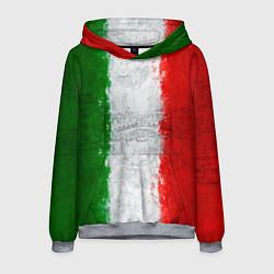 Толстовка-худи мужская Italian цвета 3D-меланж — фото 1