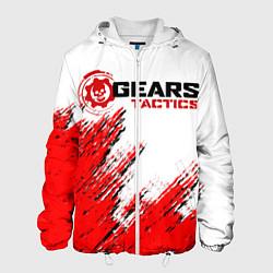 Куртка с капюшоном мужская GEARS TACTICS цвета 3D-белый — фото 1