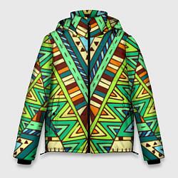 Куртка зимняя мужская Этно цвета 3D-черный — фото 1