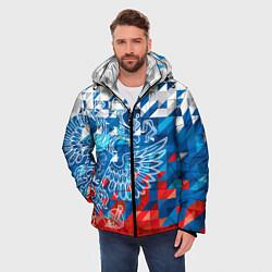 Куртка зимняя мужская Россия цвета 3D-черный — фото 2