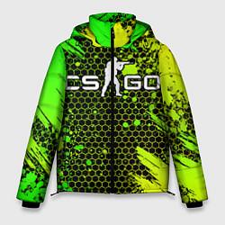 Куртка зимняя мужская COUNTER STRIKE цвета 3D-черный — фото 1