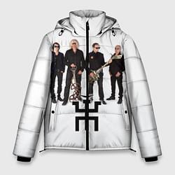 Куртка зимняя мужская Группа Пикник цвета 3D-черный — фото 1
