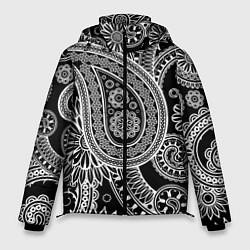Куртка зимняя мужская Paisley цвета 3D-черный — фото 1