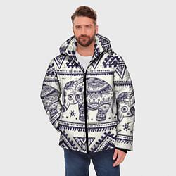 Куртка зимняя мужская Африка цвета 3D-черный — фото 2