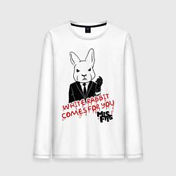 Мужской лонгслив Misfits: White rabbit