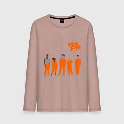 Мужской лонгслив Misfits Orange