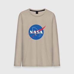 Мужской лонгслив NASA: Logo