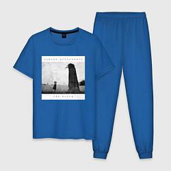 Пижама хлопковая мужская Asking Alexandria цвета синий — фото 1