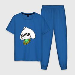 Пижама хлопковая мужская Undertale: Asriel SWAG цвета синий — фото 1
