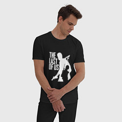 Пижама хлопковая мужская THE LAST OF US цвета черный — фото 2