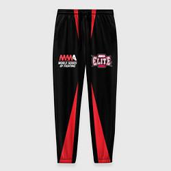 Брюки на резинке мужские MMA Elite цвета 3D-принт — фото 1