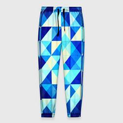 Мужские брюки Синяя геометрия