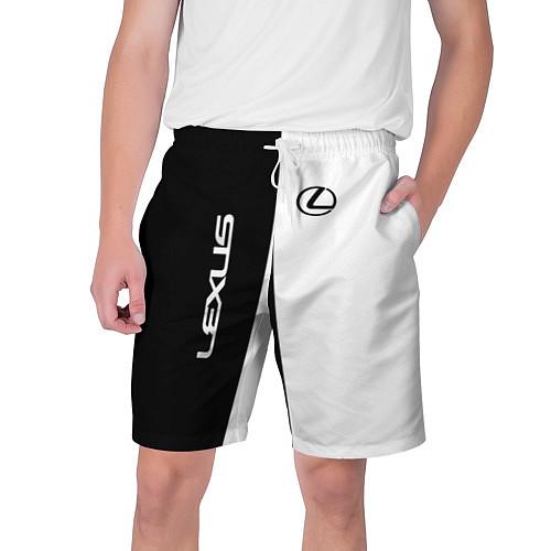 Мужские шорты Lexus: Black & White