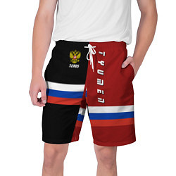 Шорты на шнурке мужские Tyumen, Russia цвета 3D — фото 1