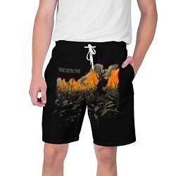 Шорты на шнурке мужские True Detective: Fire цвета 3D — фото 1
