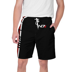 Шорты на шнурке мужские MASS EFFECT N7 цвета 3D — фото 1