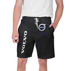 Шорты на шнурке мужские VOLVO цвета 3D — фото 1