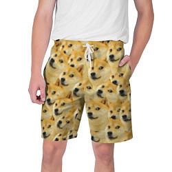 Шорты на шнурке мужские Doge цвета 3D — фото 1
