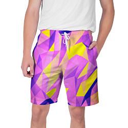 Шорты на шнурке мужские Texture цвета 3D — фото 1