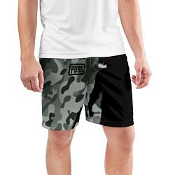Шорты спортивные мужские PUBG: Camo Shadow цвета 3D — фото 2