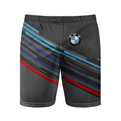 Шорты спортивные мужские BMW BRAND COLOR цвета 3D — фото 1