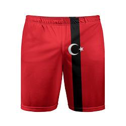 Шорты спортивные мужские Турция цвета 3D-принт — фото 1