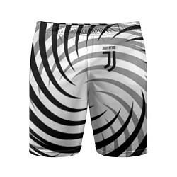 Шорты спортивные мужские FC Juventus: White Vortex цвета 3D — фото 1