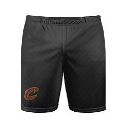 Шорты спортивные мужские Cleveland Cavaliers цвета 3D-принт — фото 1