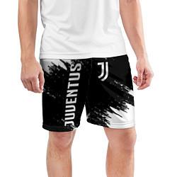 Шорты спортивные мужские JUVENTUS цвета 3D — фото 2