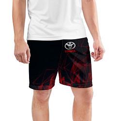 Шорты спортивные мужские TOYOTA цвета 3D — фото 2