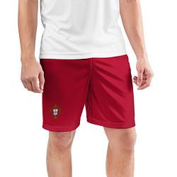 Шорты спортивные мужские Portugal home bottom цвета 3D-принт — фото 2