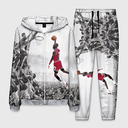 Костюм мужской Michael Jordan NBA цвета 3D-меланж — фото 1