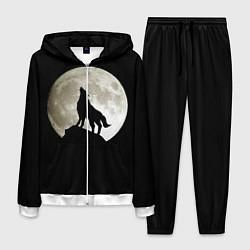 Костюм мужской Moon Wolf цвета 3D-белый — фото 1
