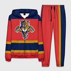 Костюм мужской Florida Panthers цвета 3D-красный — фото 1
