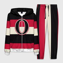 Костюм мужской Ottawa Senators O цвета 3D-белый — фото 1