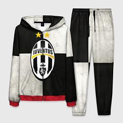 Костюм мужской Juventus FC цвета 3D-красный — фото 1