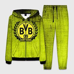 Костюм мужской Borussia5 цвета 3D-черный — фото 1