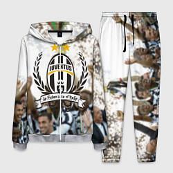 Костюм мужской Juventus5 цвета 3D-меланж — фото 1