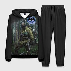 Костюм мужской Военная разведка цвета 3D-черный — фото 1
