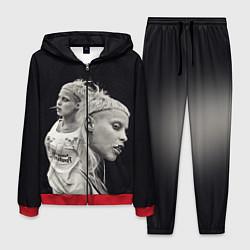 Костюм мужской Die Antwoord: Black Girl цвета 3D-красный — фото 1