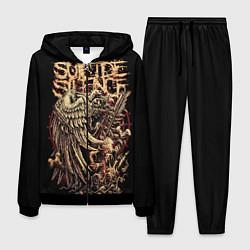Костюм мужской Suicide Silence цвета 3D-черный — фото 1