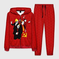 Костюм мужской Communist Party цвета 3D-красный — фото 1