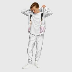 Костюм мужской Jungkook цвета 3D-белый — фото 2