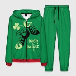 Костюм мужской Ireland, Irish dance цвета 3D-красный — фото 1