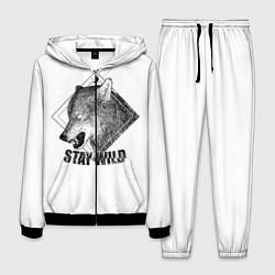 Костюм мужской Stay Wild цвета 3D-черный — фото 1