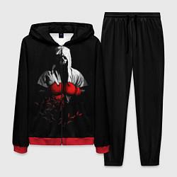 Костюм мужской Мертвый боксер цвета 3D-красный — фото 1