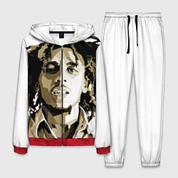 Костюм мужской Bob Marley: Mono цвета 3D-красный — фото 1